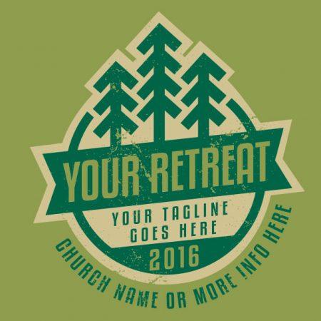 Winter Retreat Badge
