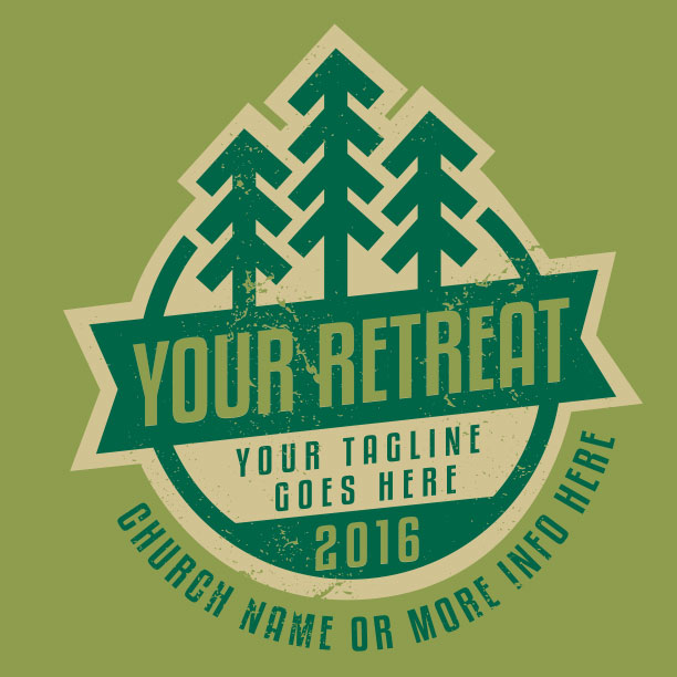 Winter Retreat Badge