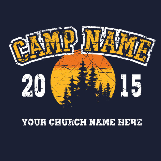 62882ac9be49 Summer Camp T-Shirts - Free Custom Design. Free 2 Week Delivery.