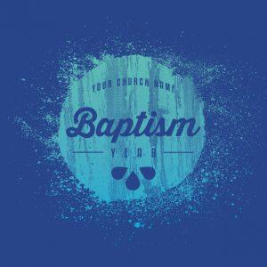 Church Baptism Splash