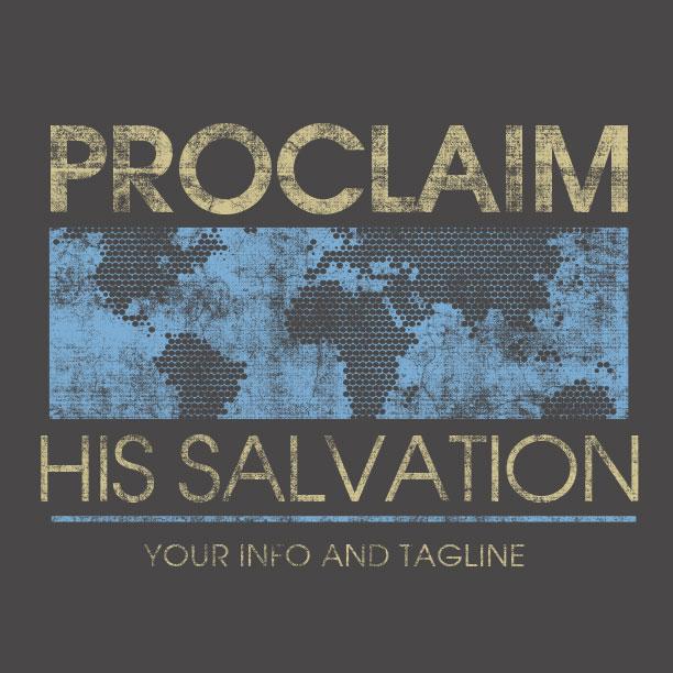 Proclaim His Salvation