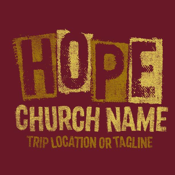 Hope Stencil