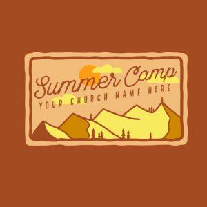 Camp Postcard