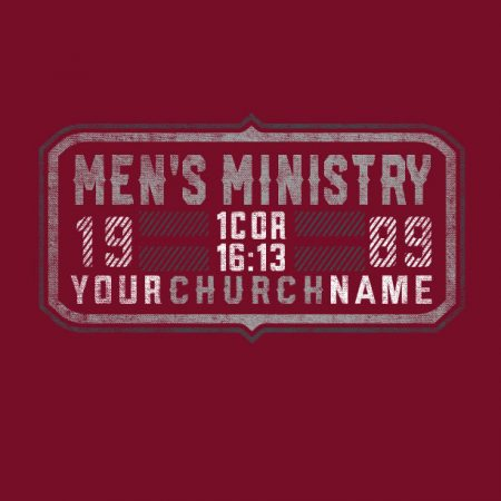 Men's Ministry Badge