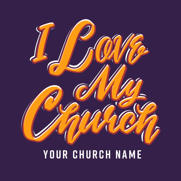I Love My Church Script