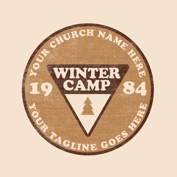 Circle Camp Badge