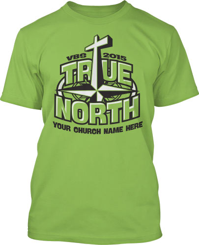 Green True North T-Shirt