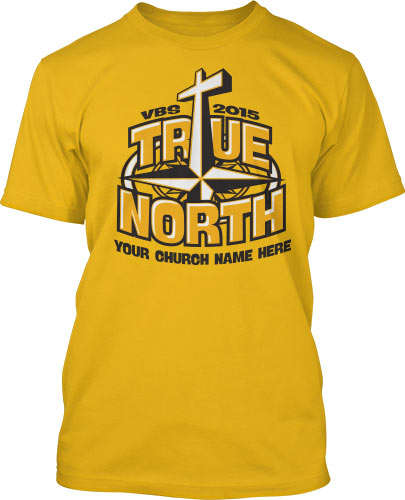 True North Yellow VBS  T-Shirt