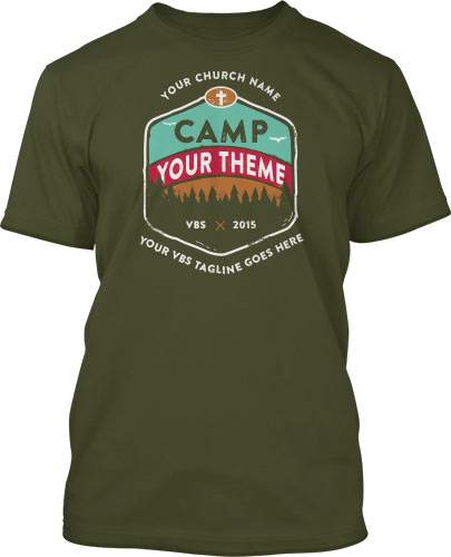 VBS Camp Discovery T-Shirts