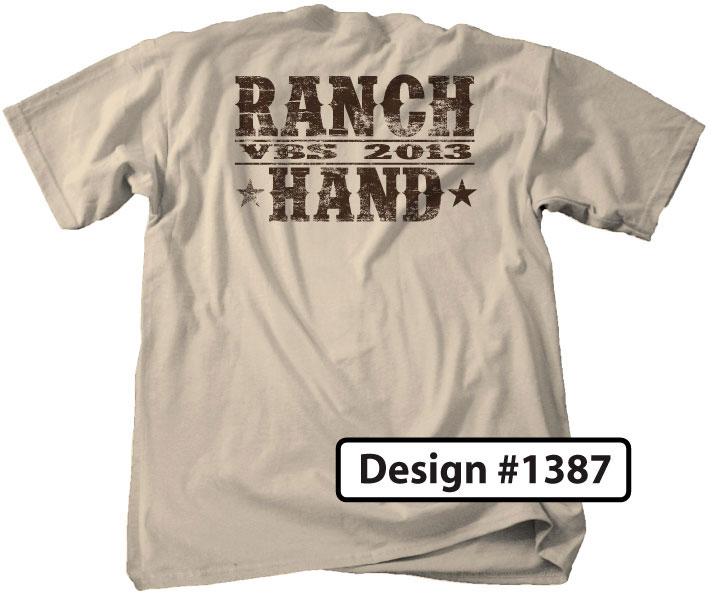 Ranch VBS Staff T-Shirts