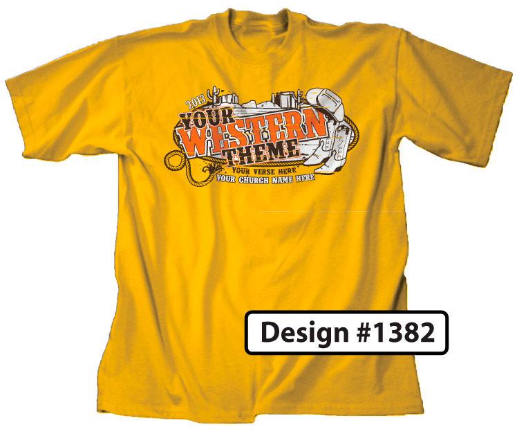 Western VBS T-Shirt