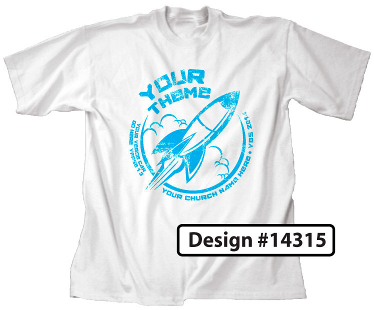 Rocket VBS Shirt Design