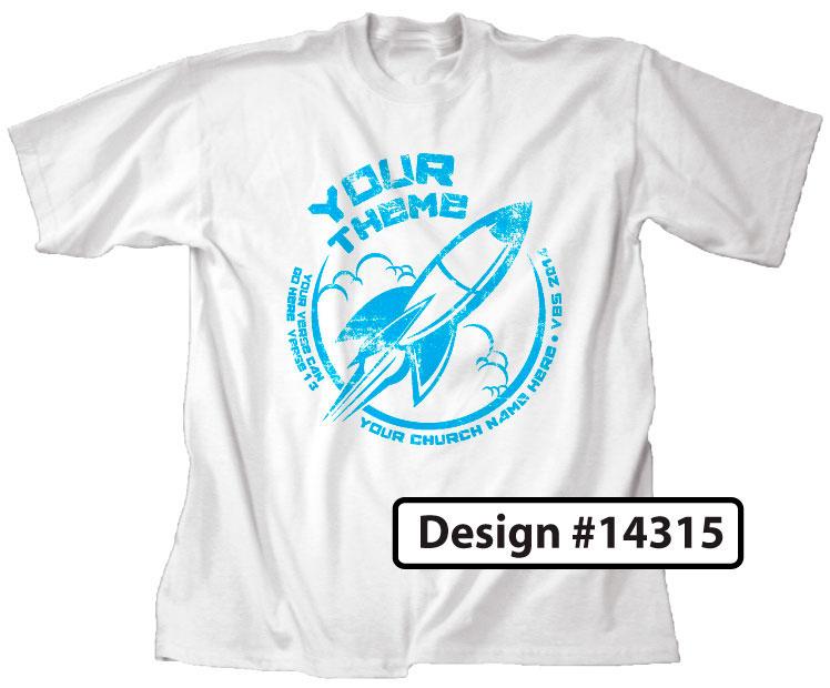Rocket VBS Shirt Design