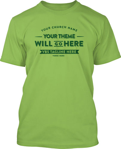 Green VBS T-Shirt