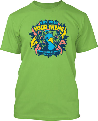 b09f0519 Into the Wild Theme VBS T-Shirts - Free Design. Free Shipping.