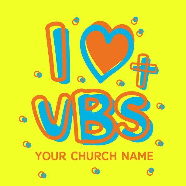 I Love VBS Doodles
